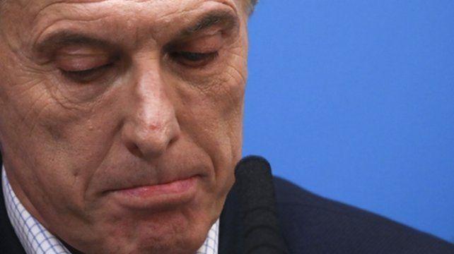 insólito. Macri culpó al peronismo por el desplome del día después.