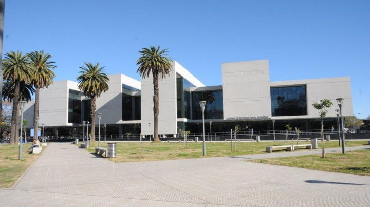 Cinco hombres fueron imputados ayer en el Centro de Justicia Penal.