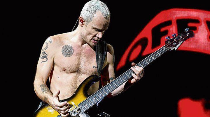 Flea, de Red Hot Chili Peppers, publicará su libro