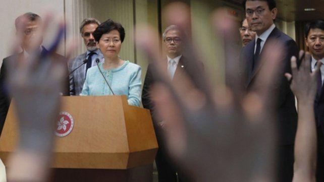 La líder Carrie Lam.