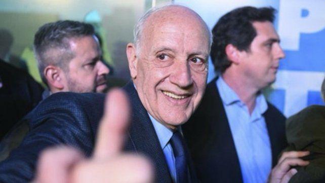 Confianza. Lavagna aspira a consolidarse en octubre próximo como segunda opción política de la Argentina.