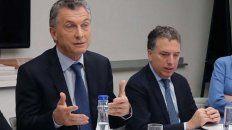 Mauricio Macri y Nicolás Dujovne.