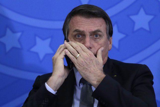 Bolsonaro atribuyó la crisis de la Argentina a delincuentes de izquierda