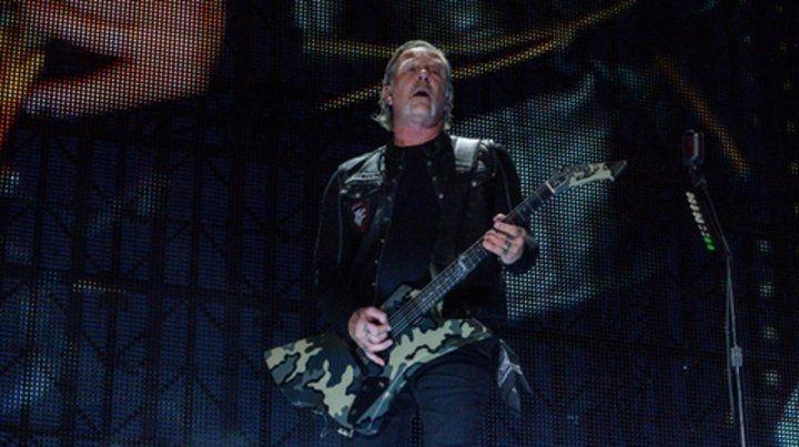 Metallica llega a la Argentina en abril de 2020