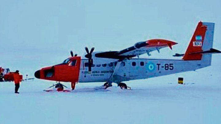 Isla Ross. El incidente ocurrió a 54 kilómetros de la Base Marambio.