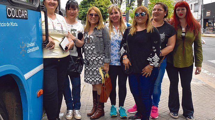 igualdad. Las mujeres buscan que el municipio cumpla las ordenanzas y las incorpore como choferes.