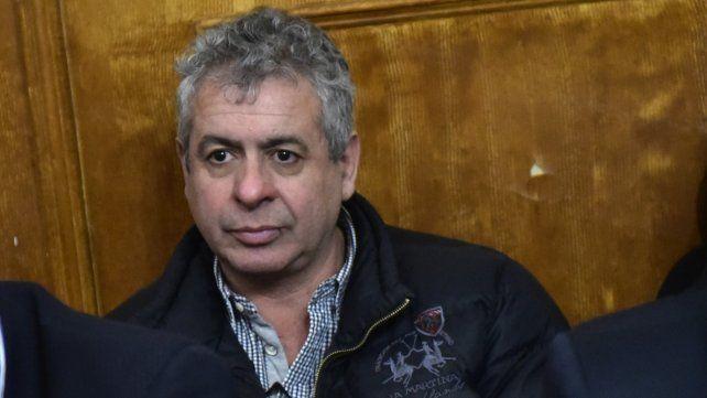 Delfín Zacarías durante el juicio que afrontó por narcotráfico.