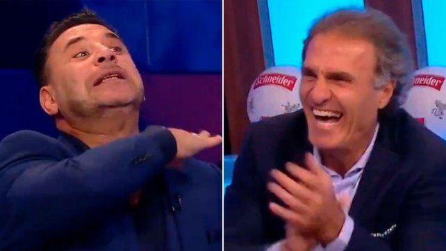 Mohamed y su desopilante momento en la televisión