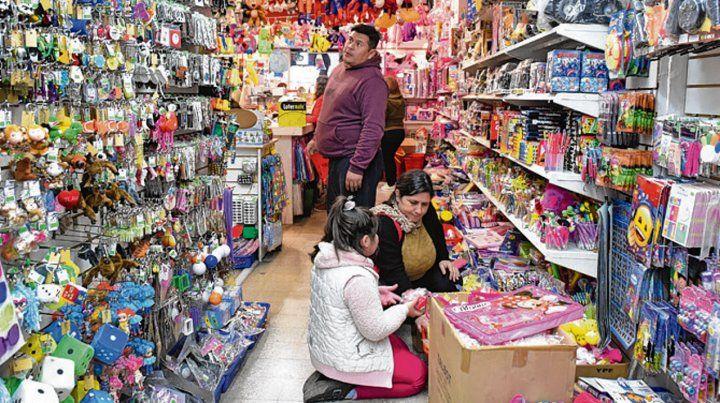 Ofertas variadas. Las jugueterías buscan atraer clientes.