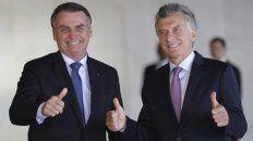 En sintonía. Tras la derrota de Macri el domingo pasado, Bolsonaro salió a criticar con dureza el resultado.