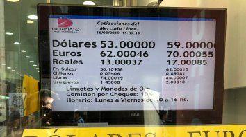 El dólar cerró la semana a 59 pesos para la venta