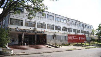 Efector. Los chicos quedaron internados en el Hospital Zona Norte.