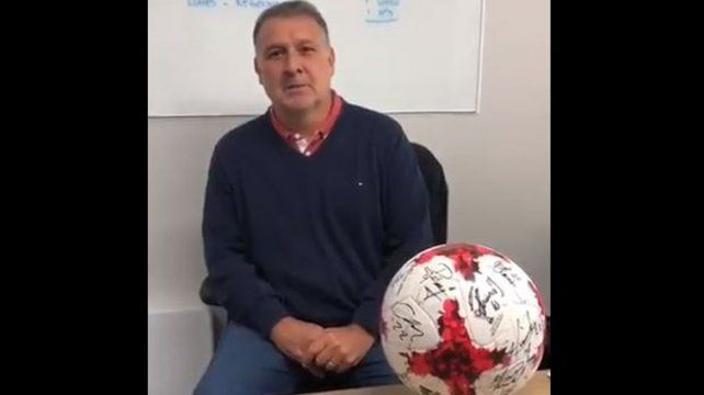 El Tata Martino pidió que el pueblo ñulista apoye el fideicomiso del club