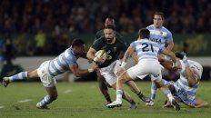 Los Pumas perdieron ajustadamente frente a Sudáfrica