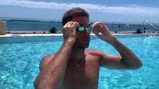 Del Potro mostró en un video cómo viene su recuperación