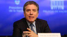 Nicolás Dujovne renunció como ministro de Economía
