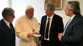 Alberto y el Papa Francisco mantuvieron un encuentro en el Vaticano a comienzos de 2018.