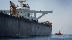 Enorme. El petrolero iraní llevaría 2 millones de crudo para Siria.