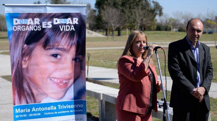Homenaje a Antonella en Buenos Aires, a veinte años de su muerte