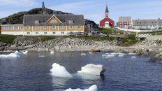 verano. El deshielo acelerado de Groenlandia facilitará el acceso a sus riquezas minerales.
