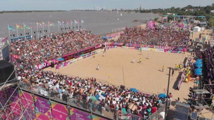 Un sensible envión. Los Juegos Suramericanos de Playa incidieron en el movimiento y la demanda hotelera en la ciudad.