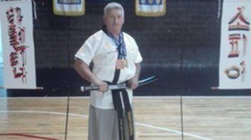Consagrado. Mario Saccetto, reciente campeón de Haidong Gundo.