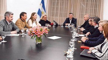 Segunda cumbre en un día. El jefe del Estado reunió en Olivos a la dirigencia de Juntos por el Cambio.