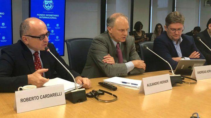 El FMI anunció que una misión viajará pronto a Buenos Aires