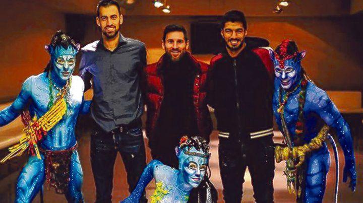 Anuncio. El futbolista rosarino Lionel Messi durante el lanzamiento de la propuesta en enero pasado.