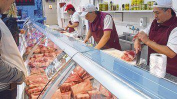 Devaluación. Las carnicerías se vieron obligadas a remarcar los precios de los distintos cortes.