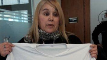 Marcela Ontiveros reclamó justicia.