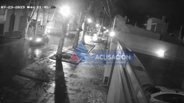 Trayecto. Cámaras de monitoreo permitieron reconstruir el recorrido del auto en el que se movió el acusado.