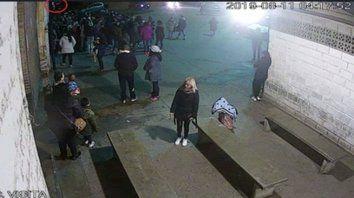 Galpón. El domingo 11 tirotearon un tinglado donde había 100 mujeres y niños esperando para entrar al penal.