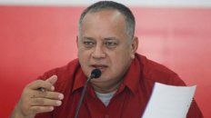 al cruce. El vicepresidente Diosdado Cabello negó la versión.