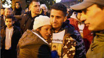 Soledad y Javier, los padres de Benjamín, emocionados por el apoyo.