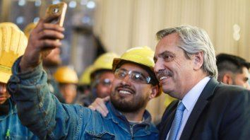 Alberto Fernández: El Estado tiene que asociarse con los que producen para generar trabajo