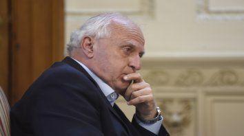 El gobernador dijo que la provincia tenía previsiones que deberán analizarse..