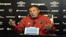 Será distinto. Frank anticipó que espera un juego diferente al que tuvieron con los santiagueños y Unión.