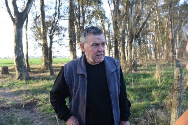 Alberto Perassi estuvo presente durante la búsqueda de los restos de su hija.