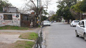 Doctor Riva y Necochea. La balacera ocurrió en una zona caliente de Tablada conocía como La U.
