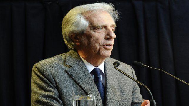 Estampa. Tabaréz Vázquez está terminando su segunda presidencia.