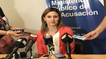 La fiscal Yanina Tolosa.