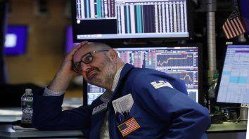 Roces. Los conflictos que enfrenta la administración de Donald Trump agobian a Wall Street.