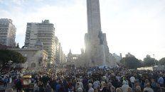 masiva marcha en apoyo a macri en rosario