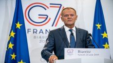 El polaco Tusk, presidente del Consejo Europeo, disparó a 360 grados desde Biarritz.