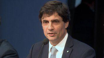 El ministro de Hacienda, Hernán Lacunza, destacó la importancia que tiene defender la estabilidad.