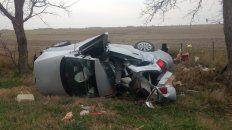 Murieron los cuatro ocupantes del Volkswagen Suran que colisionó en la autovía 19 a la altura de Clucellas.