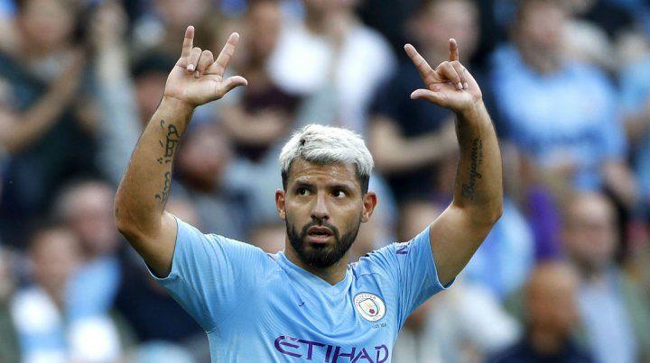 El Kun Agüero rompió una nueva marca en su carrera en el Manchester City.