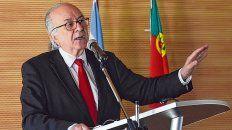 El pensador portugués recibió el título de Doctor Honoris Causa de la UNR en noviembre de 2018.