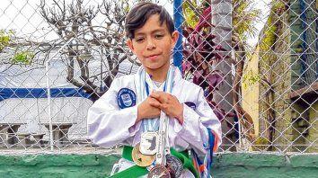 El Campeón. Joaquín Carballo Canteros busca llegar al campeonato y representar al país.